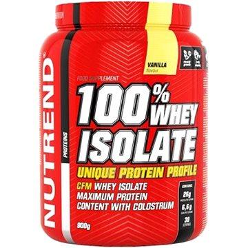 Nutrend 100% Whey Isolate, 900g, vanilka (8594073179647)