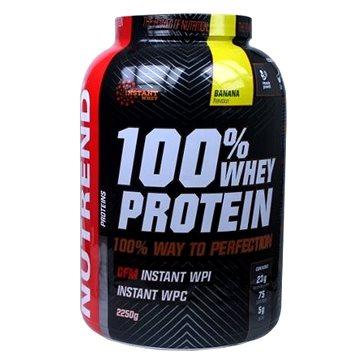 Nutrend 100% Whey Protein, 2250g, banán (8594073179104)