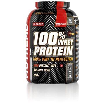 Nutrend 100 % Whey Protein 2250 g, jahoda (VS-032-2250-JH)