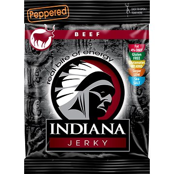 Jerky beef Peppered 25g (8594055300205)