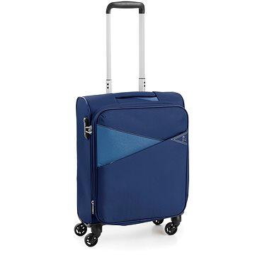 Roncato kufr THUNDER 55 cm, 4 kolečka, EXP., modrá (8008957474952)