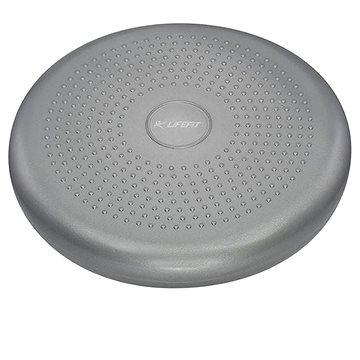 Lifefit Balance cushion 33cm, stříbrný (4891223119831)