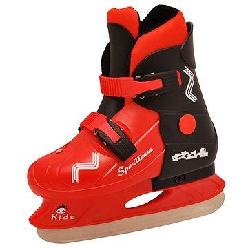 Sportteam Kids, vel. M(33-36), černo-červené (4891223088106)