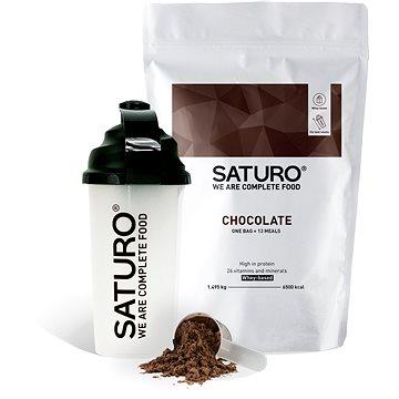 Saturo Prášek Starter Kit, Čokoláda (9120082270243)
