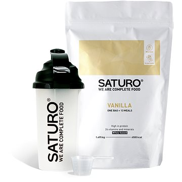 Saturo Prášek Starter Kit, Vanilka (9120082270250)