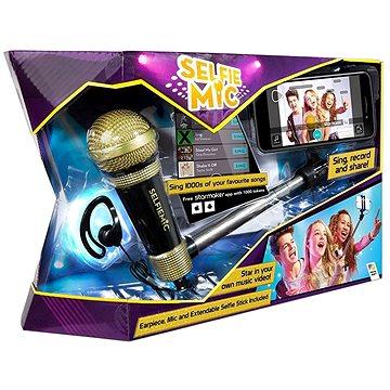 Selfie mikrofon černý (5013138661864)