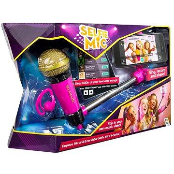 Selfie mikrofon růžový (5013138661451)