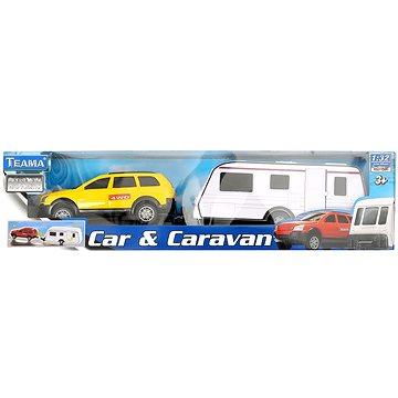 Mac Toys 1:32 Auto s karavanem 4ass (4897021680634)