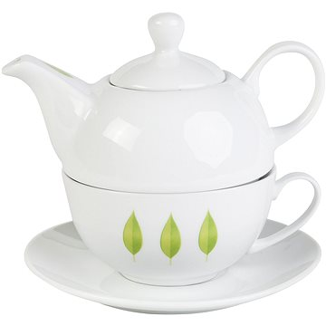 By-inspire Set konvička s čajovým šálkem kolekce Leaf (7694-00-05)