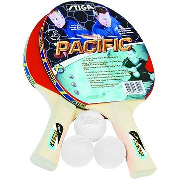 Stiga Set Pacific - 2 pálky a 3 míčky (7318681931012)