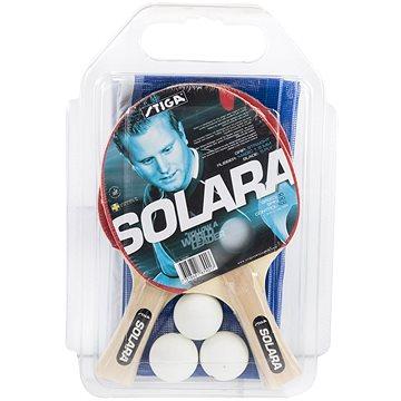 Stiga Set Solara - 2 pálky,3 míčky,1 síť (7318681879017)