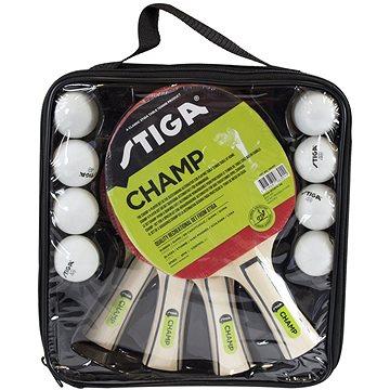 Stiga Set Champ 4-play - 4 pálky a 8 míčků (7318681983011)