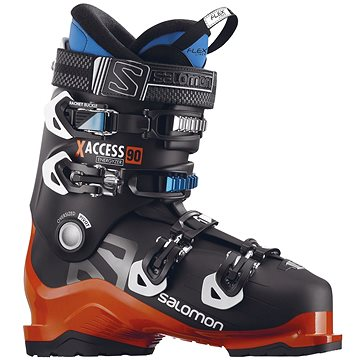 Salomon X Access 90 Black/Orange/Indigo Blue