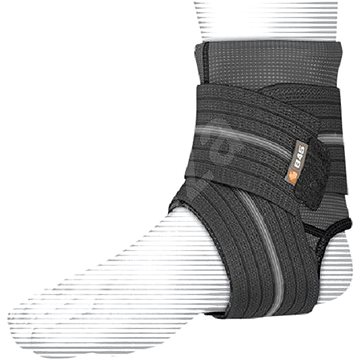 Shock Doctor Ankle Sleeve With Compression Wrap Support Black XL (845-XL)