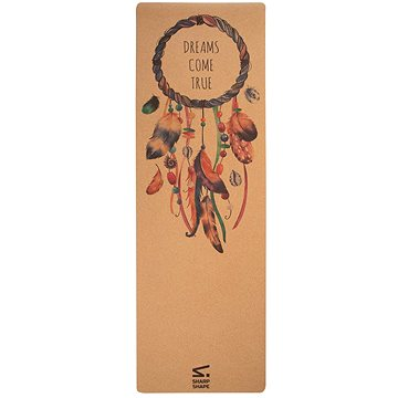 Sharp Shape Cork yoga mat Namaste (2491883354072)