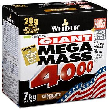 Weider Mega Mass 4000 různé příchutě 7kg