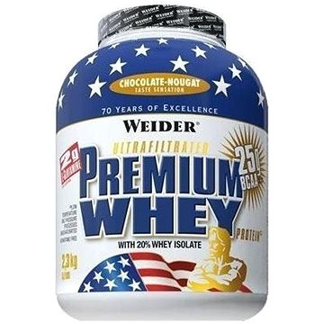 Weider Premium Whey různé příchutě 2,3kg