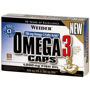 Weider Omega 3 60kapslí (4044782322918)