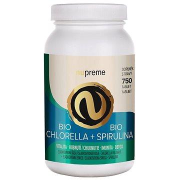 ES BIO Chlorella + Spirulina 750tbl. (8594176060286)