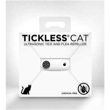 Tickless Mini Cat bílý (5999566450396)