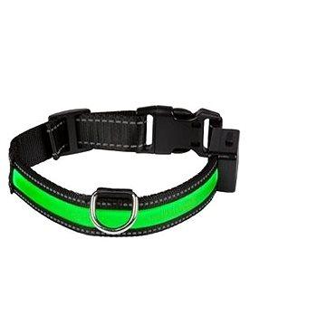 Eyenimal svítící obojek pro psy - zelený - M (3700192303831)