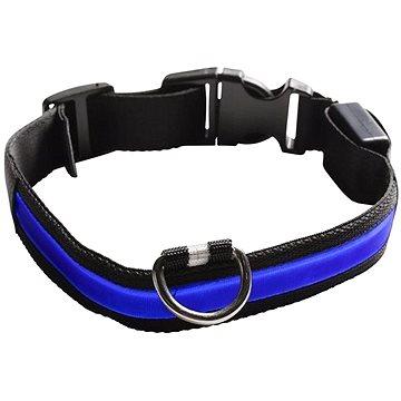 Eyenimal svítící obojek pro psy - modrý (SPTzah0007nad)