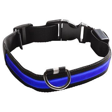 Eyenimal svítící obojek pro psy - modrý - M (3700192303787)