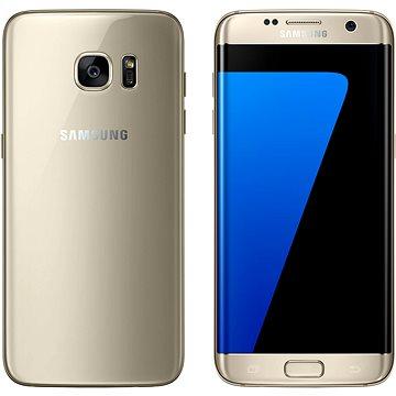 Samsung Galaxy S7 edge zlatý (SM-G935FZDAORX) + ZDARMA Digitální předplatné Interview - SK - Roční od ALZY