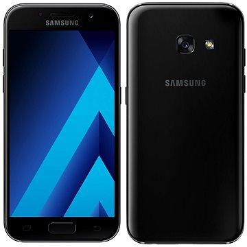 Samsung Galaxy A3 (2017) čierny (SM-A320FZKNORX) + ZDARMA Digitální předplatné Interview - SK - Roční od ALZY
