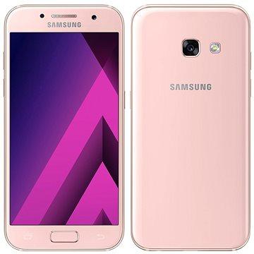 Samsung Galaxy A3 (2017) ružový (SM-A320FZINORX) + ZDARMA Digitální předplatné PC Revue - Roční předplatné - ZDARMA Digitální předplatné Interview - SK - Roční od ALZY
