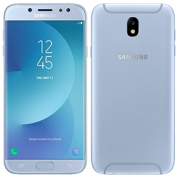 Samsung Galaxy J7 Duos (2017) modrý (SM-J730FZSDORX) + ZDARMA Digitální předplatné Interview - SK - Roční od ALZY