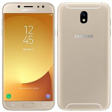 Samsung Galaxy J7 Duos (2017) zlatý (SM-J730FZDDORX) + ZDARMA Digitální předplatné Interview - SK - Roční od ALZY