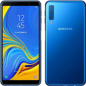 Samsung Galaxy A7 Dual SIM modrá (SM-A750FZBUORX)