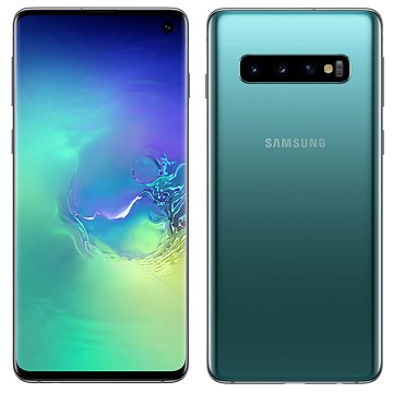 Samsung Galaxy S10 Dual SIM 128GB zelená (SM-G973FZGDORX)