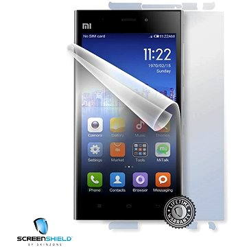 ScreenShield pro Xiaomi Mi3 na celé tělo telefonu (XIA-MI3-B)