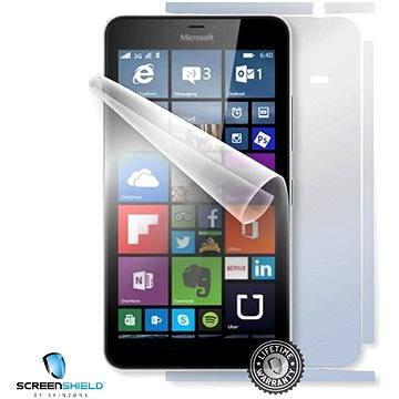 ScreenShield pro Microsoft Lumia 640 XL RM-1062 na celé tělo telefonu (MIC-L640XL-B)
