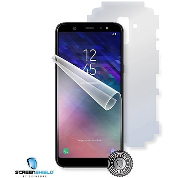 Screenshield SAMSUNG A605 Galaxy A6+ na celé tělo (SAM-A605-B)