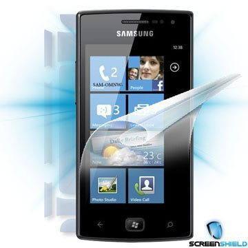 ScreenShield pro Samsung Omnia W (i8350) na celé tělo telefonu (SAM-i8350-B)