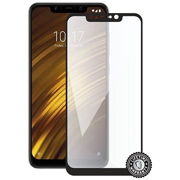 Screenshield XIAOMI POCOPHONE F1 (full COVER black) (XIA-TG25DBPOCPHF1-D)