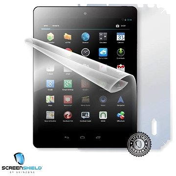 ScreenShield pro UMAX Vision Book 8Q na celé tělo tabletu (UMA-VIS8Q-B)