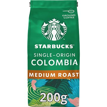Starbucks Single-Origin Colombia, mletá jednodruhová káva, 200g (7613036963039)
