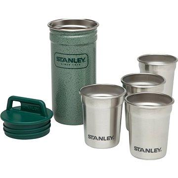 STANLEY Set 4 ks nerez panáků Adventure series v nerez pouzdře zelená (10-01705-003)