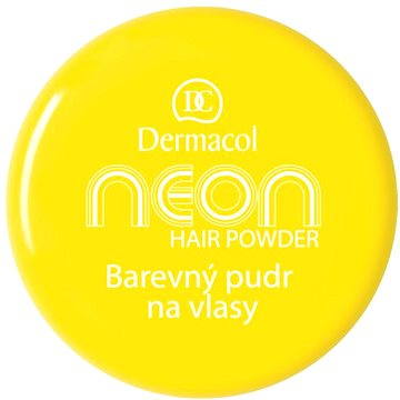 Pudr na vlasy DERMACOL Neon Hair Powder No.1 - Yellow 2,2 g (85957817)