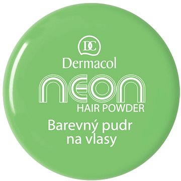 Pudr na vlasy DERMACOL Neon Hair Powder No.6 - Green 2,2 g (85957862)