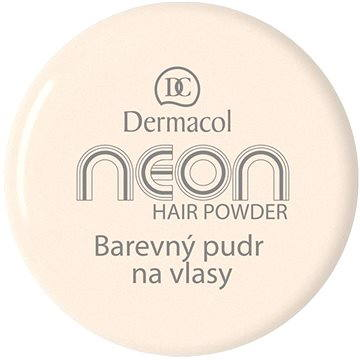Pudr na vlasy DERMACOL Neon Hair Powder No.7 - Gold 2,2 g (85958395)