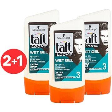 SCHWARZKOPF TAFT Look Wet Look 3× 150 ml