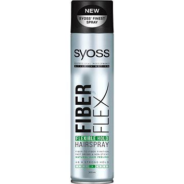 Lak na vlasy SYOSS Fiber Flex Hold 300 ml (9000101047172)
