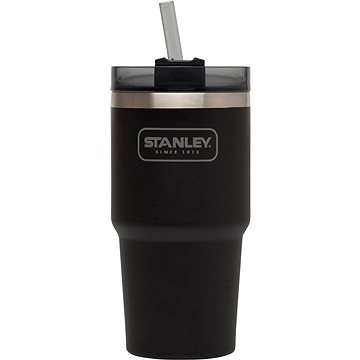 STANLEY Termohrnek do auta 591mL vacuum quencher Matte Black (10-02662-038)