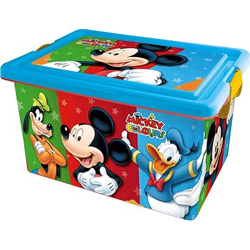 STOR Plastový box 13 L MICKEY COLOURS (SO4485)