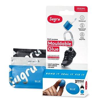 Sugru Mouldable Glue 3 pack - černé, bílé, modré (I000417)